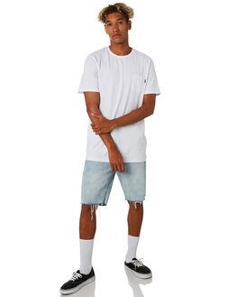 WHITE MENS CLOTHING RIP CURL TEES - CTESY21000