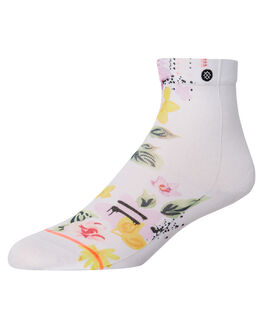 WHITE WOMENS CLOTHING STANCE SOCKS + UNDERWEAR - W315C18JUSWHT