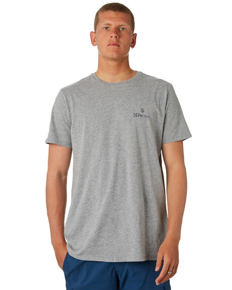 GREY MARLE MENS CLOTHING DEPACTUS TEES - D5184010GRYMA