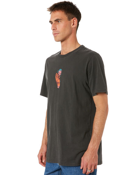 BLACK MENS CLOTHING VOLCOM TEES - A5232003BLK