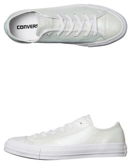 IRIDESCENT WHITE WOMENS FOOTWEAR CONVERSE SNEAKERS - 558009WHT