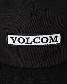 BLACK MENS ACCESSORIES VOLCOM HEADWEAR - D5511914BLK