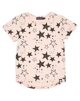 PINK KIDS GIRLS LITTLE LORDS TOPS - AW19300PNK