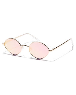 PEACH PINK WOMENS ACCESSORIES QUAY EYEWEAR SUNGLASSES - QW-000513PCHPK