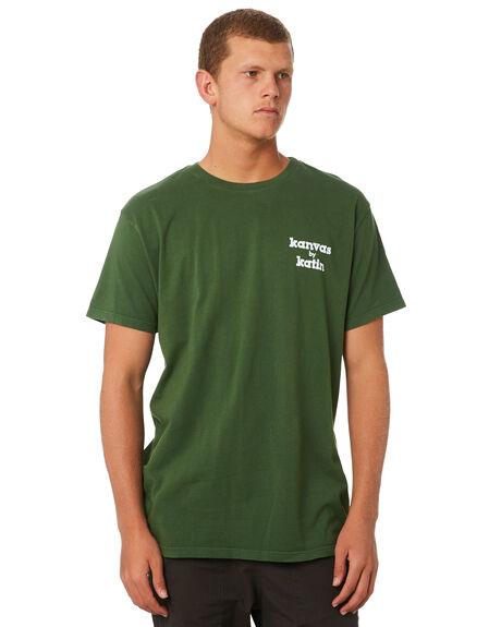GREEN MENS CLOTHING KATIN TEES - TSKMAN03GRN