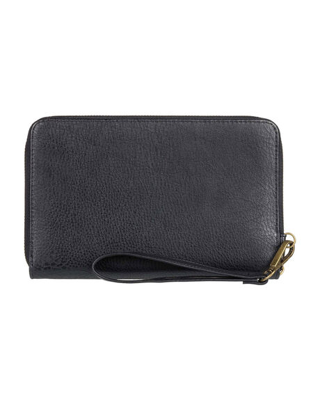 ANTHRACITE WOMENS ACCESSORIES ROXY PURSES + WALLETS - ERJAA03715-KVJ0