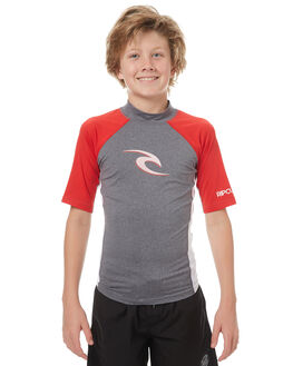 RED SURF RASHVESTS RIP CURL BOYS - WLU8BJ0040