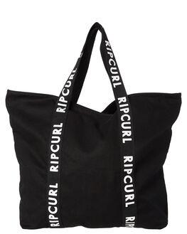 BLACK WHITE WOMENS ACCESSORIES RIP CURL BAGS - LSBJK10431