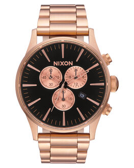 ALL ROSE GOLD  BLK MENS ACCESSORIES NIXON WATCHES - A3861932