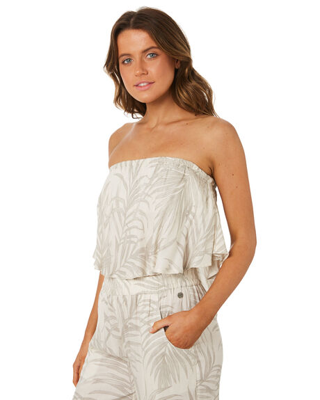 OFF WHITE WOMENS CLOTHING RIP CURL FASHION TOPS - GSHZL30003