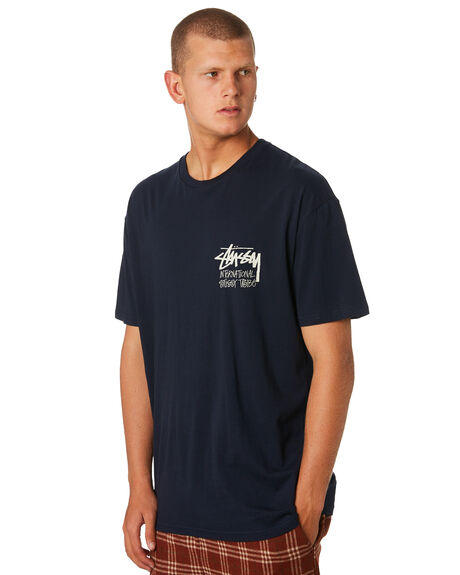 BLUE NIGHTS MENS CLOTHING STUSSY TEES - ST096000BLUNT