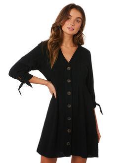 BLACK WOMENS CLOTHING MINKPINK DRESSES - MP1809550BLK