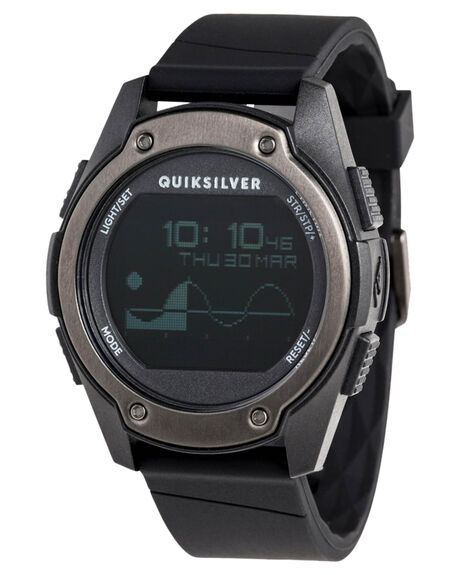 BLACK MENS ACCESSORIES QUIKSILVER WATCHES - EQYWD03005XKKK