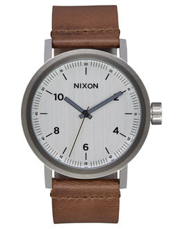 SILVER SADDLE MENS ACCESSORIES NIXON WATCHES - A11942092