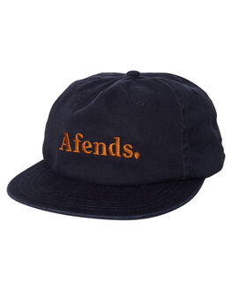 NAVY MENS ACCESSORIES AFENDS HEADWEAR - 13-07-022NVY