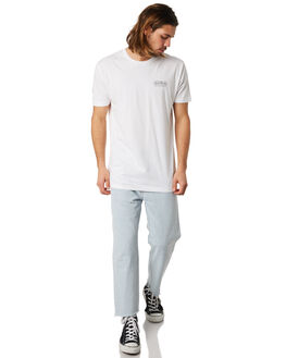 WHITE MENS CLOTHING GOOD WORTH TEES - TLP1821WHT