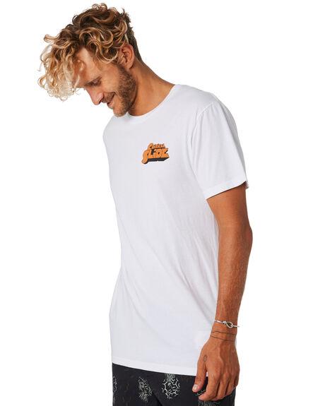 WHITE MENS CLOTHING THE CRITICAL SLIDE SOCIETY TEES - TE18123WHT