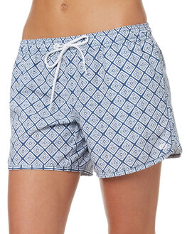 MID BLUE WOMENS CLOTHING RIP CURL SHORTS - GBODM18962