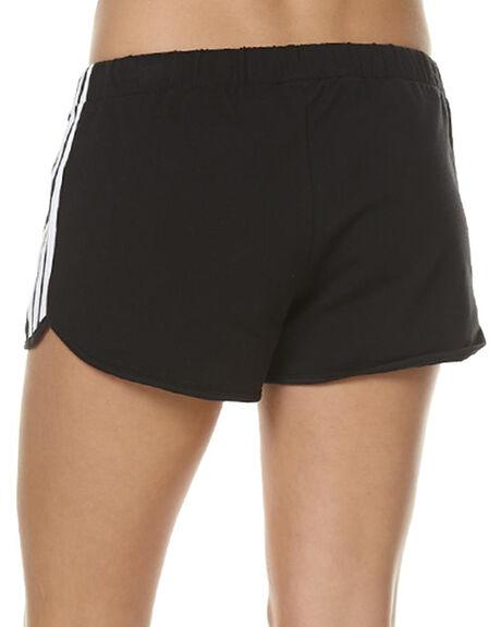 BLACK WOMENS CLOTHING ADIDAS ORIGINALS SHORTS - AY8125BLK