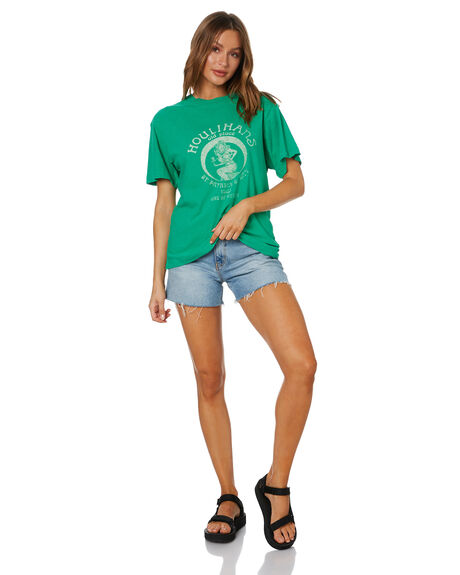 GREEN WOMENS CLOTHING ROLLAS TEES - 13856GRN