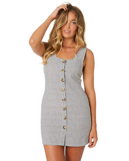 STRIPE WOMENS CLOTHING THE BARE ROAD DRESSES - 990341-07STR