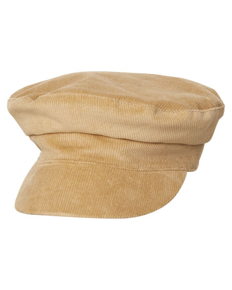 NUDE OUTLET WOMENS LACK OF COLOR HEADWEAR - NUDECORDCAPNDE