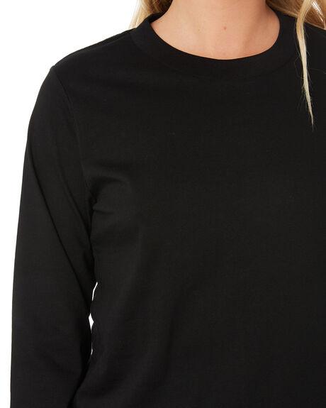 BLACK WOMENS CLOTHING AS COLOUR TEES - 4056BLK