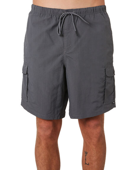 CHARCOAL MENS CLOTHING DEPACTUS SHORTS - D5201231CHAR