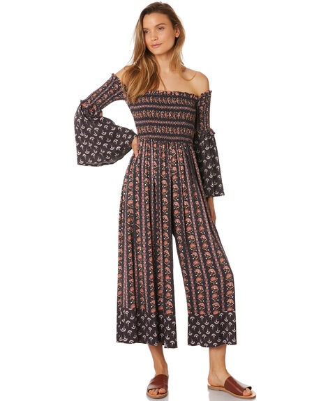 CHARCOAL WOMENS CLOTHING TIGERLILY PLAYSUITS + OVERALLS - T393418CHR