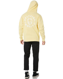 LIGHT YELLOW MENS CLOTHING SPITFIRE JUMPERS - 53110044ALTYEL