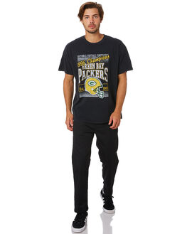 PACKERS BLACK MENS CLOTHING MAJESTIC TEES - MGB7025DBBLK