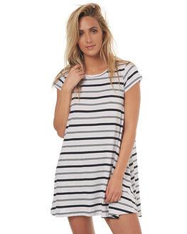 LAV STRIPE WOMENS CLOTHING SILENT THEORY DRESSES - 6008238STR