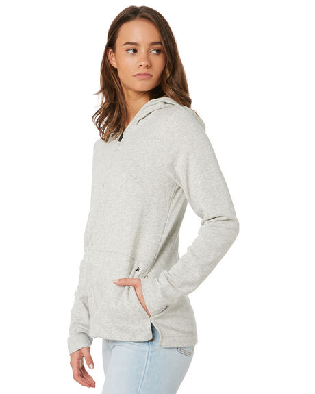 GREY HEATHER WOMENS CLOTHING HURLEY JUMPERS - 941327050