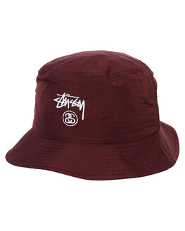 BROWN MENS ACCESSORIES STUSSY HEADWEAR - ST783006BRWN