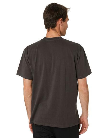 AGED BLACK MENS CLOTHING FORMER TEES - FTE-21303AGBLK