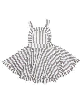 BLACK KIDS TODDLER GIRLS ROCK YOUR BABY DRESSES - TGD18138-BBLK