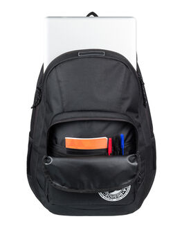BLACK MENS ACCESSORIES DC SHOES BAGS + BACKPACKS - EDYBP03176-KVJ0