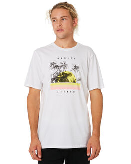 WHITE MENS CLOTHING HURLEY TEES - BV1891100