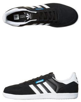BLACK WHITE MENS FOOTWEAR ADIDAS ORIGINALS SNEAKERS - SSBB8530BLKM