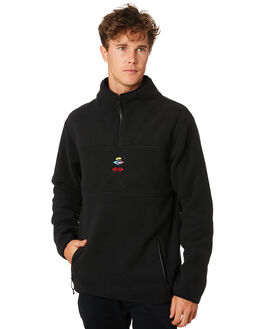 BLACK MENS CLOTHING RIP CURL JUMPERS - CFEPT10090