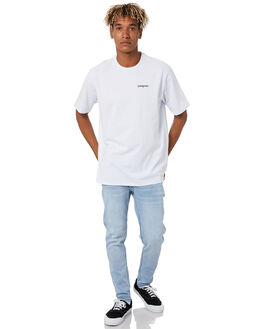 WHITE MENS CLOTHING PATAGONIA TEES - 38501WHI