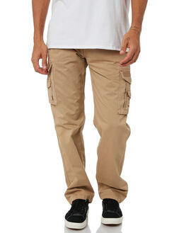 KHAKI MENS CLOTHING RIP CURL PANTS - CPADC10064