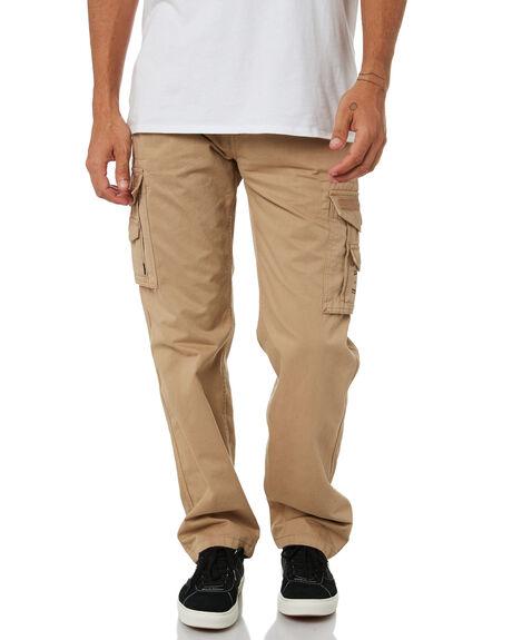 KHAKI MENS CLOTHING RIP CURL PANTS - CPADC10064