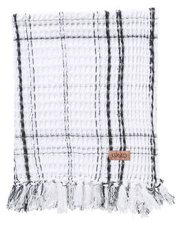 BLACK WHITE CHECK WOMENS ACCESSORIES KIP AND CO HOME + BODY - AW201134BLKWH