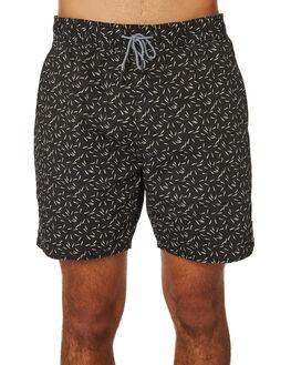 BLACK MENS CLOTHING RVCA BOARDSHORTS - R182416BLK