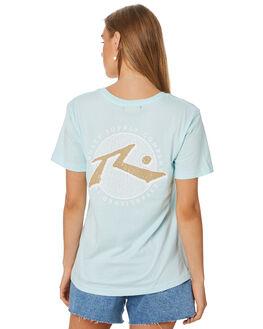 MINT WAVE WOMENS CLOTHING RUSTY TEES - TTL1108MTWV