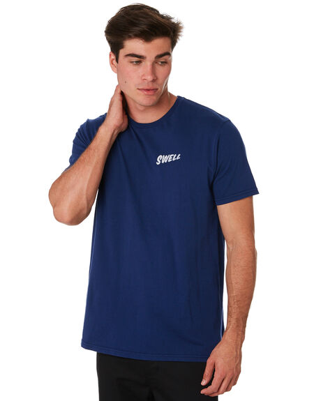 YALE BLUE MENS CLOTHING SWELL TEES - S5194007YALBL