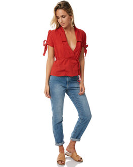 ROUGE WOMENS CLOTHING RUE STIIC FASHION TOPS - S118-23ROUGE