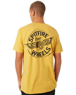 MUSTARD MENS CLOTHING SPITFIRE TEES - FCLSCMSTD