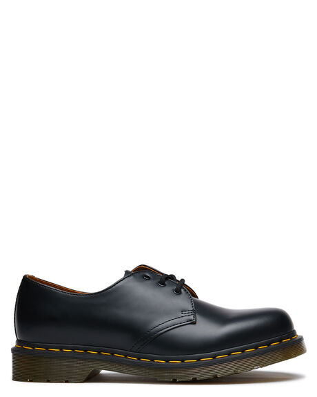 BLACK MENS FOOTWEAR DR. MARTENS FASHION SHOES - SS11838002BLKM